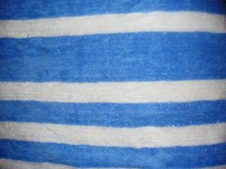Las líneas azul y blanco