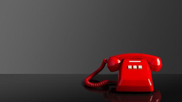 Llamada de emergencia en el teléfono