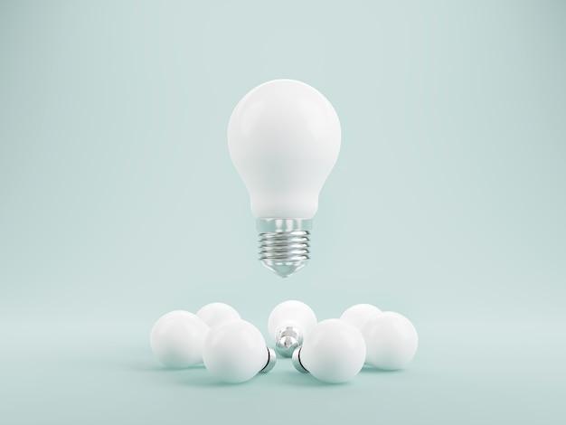 Lluvia de ideas y conceptos de pensamiento de diseño