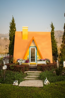Lodge resort en tailandia.
