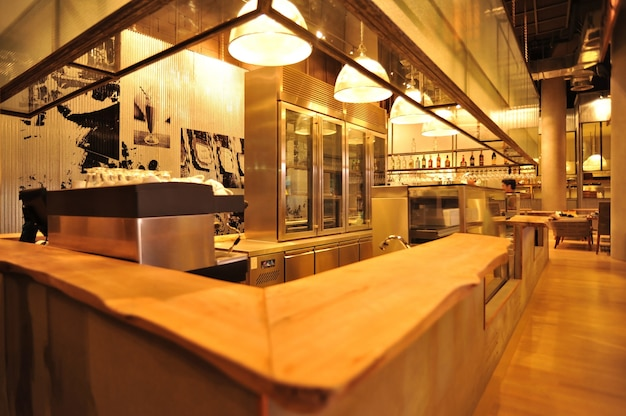 Loft industrial bar