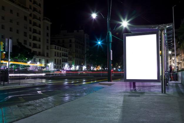Luces de ciudad de noche