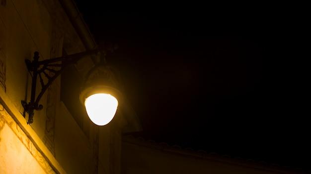 Luces de la ciudad de noche