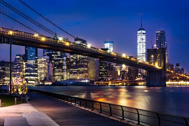 Luces de la ciudad de nueva york