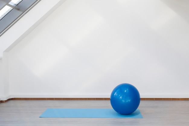 Lugar para ejercicios de fitness.