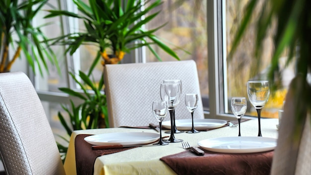 Lugar de encuentro en restaurante