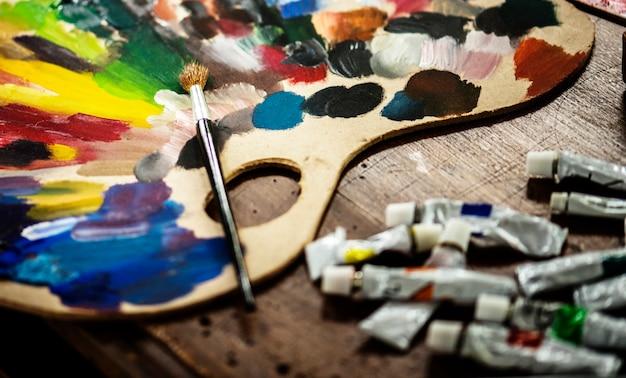Lugar de trabajo del artista