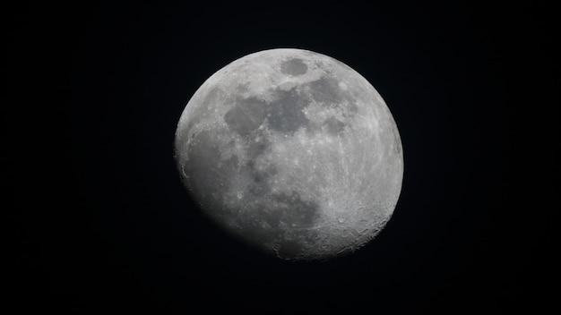 Luna menguante creciente