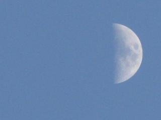 La luna, del sol