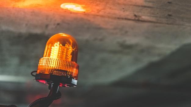 Luz de la lámpara de emergencia