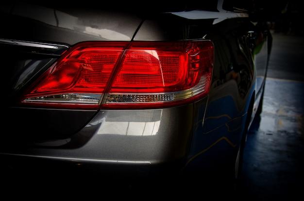 Luz trasera del carro