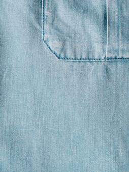 Lyocell o tencel textura de fondo de mezclilla azul