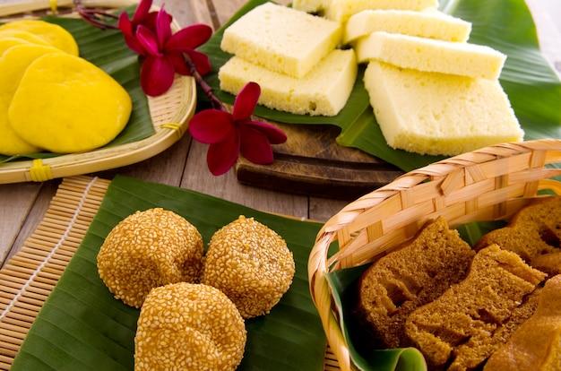 Ma lai gou-tradicional malasia pastel al vapor.