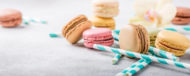 Macarons franceses surtidos