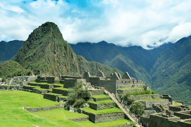 Machu picchu, un sitio del patrimonio mundial de la unesco