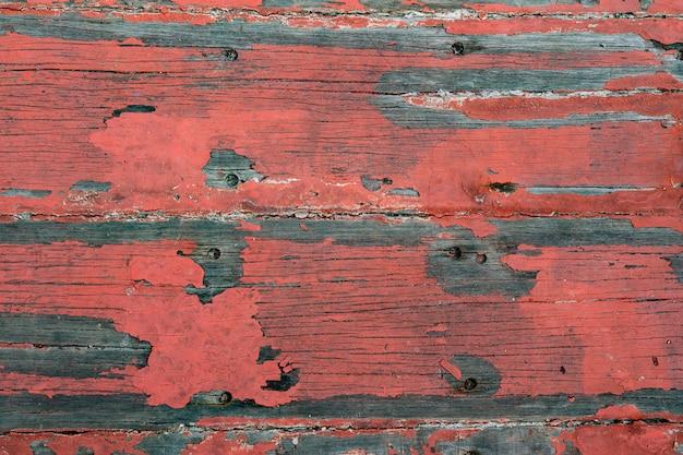 Madera vieja pintada en azul, textura o fondo