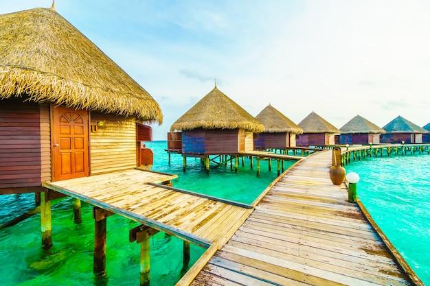 Maldivas océano al aire libre vacaciones en la arena