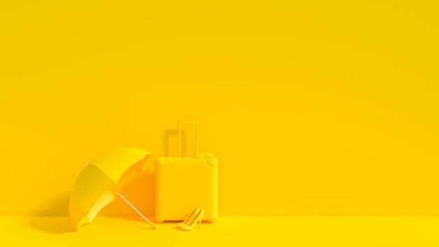 Maleta amarilla