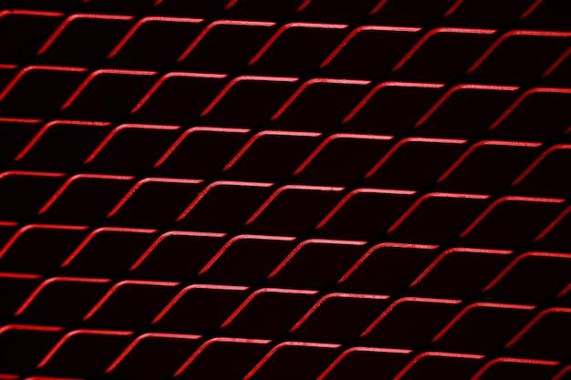 Malla roja aislada cableada