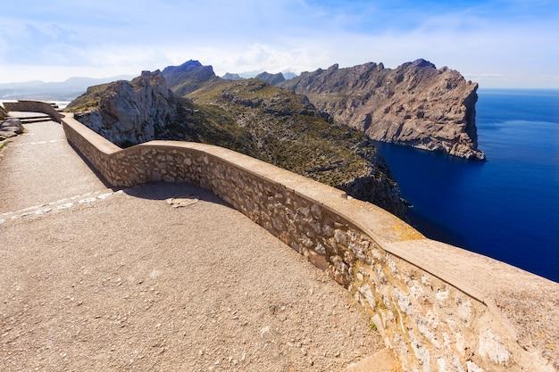 Mallorca mirador formentor isla del cabo mallorca