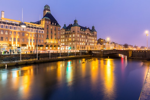 Malmo cityscape suecia