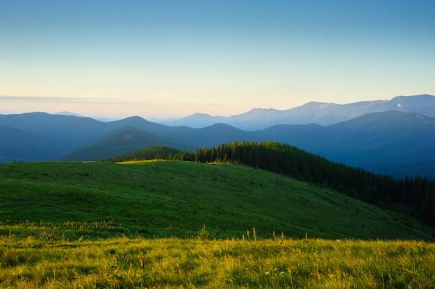 Mañana en las montañas