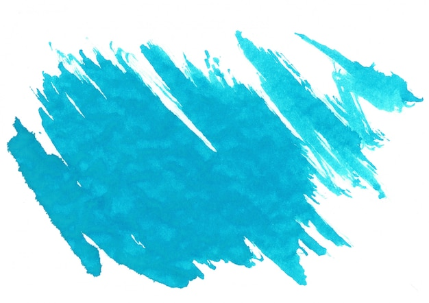 Mancha de acuarela azul
