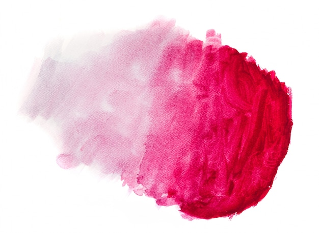 Mancha rosa degradada