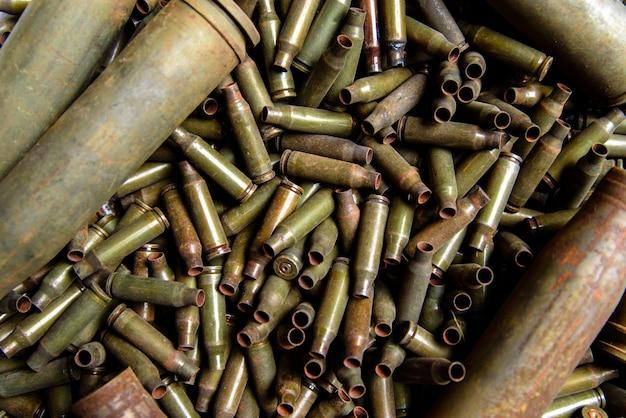 Mangas de la ametralladora y ametralladora de gran calibre.