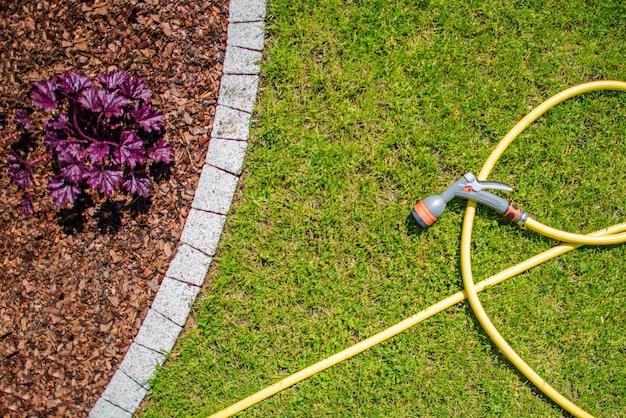 Manguera de agua de jardín