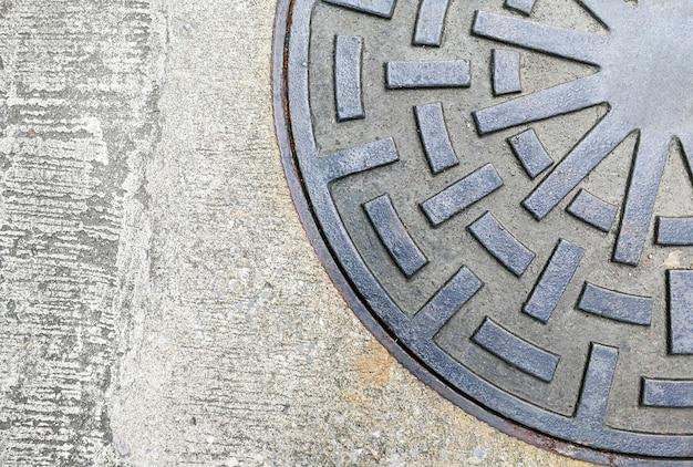 Manguera circular de drenaje de acero