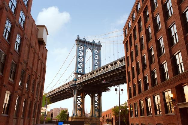 Manhattan bridge nueva york ny nyc de brooklyn
