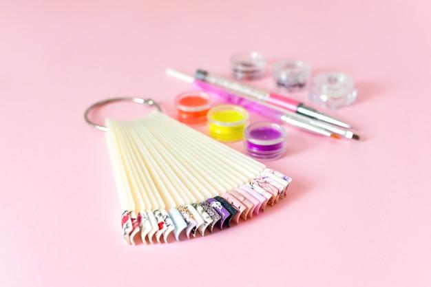 Manicure, gel nail art design equipment.