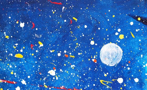 Mano dibujar colorido fondo abstracto acuarela y texturado