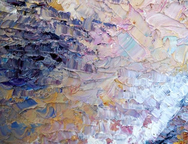 Mano dibujar fondo abstracto pintura colorida con textura.