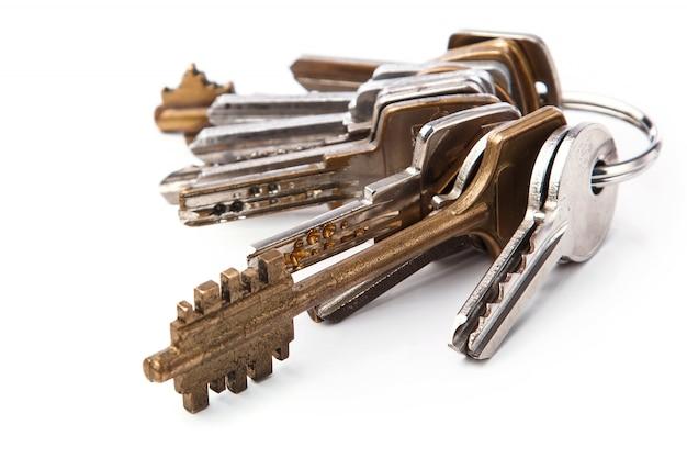Manojo de llaves diferentes