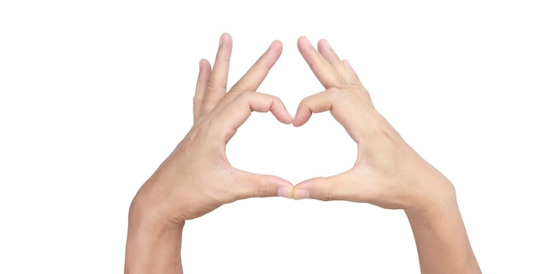 Manos, hacer, señal, corazón