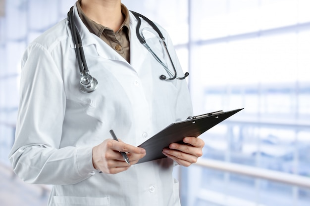 Manos de médico