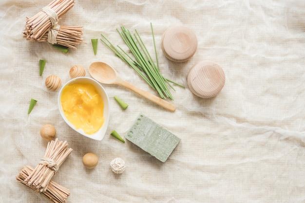 Manteca de karité y jabón