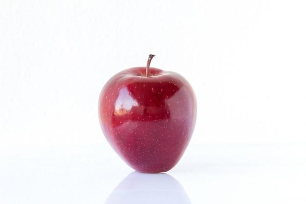 Manzana madura roja