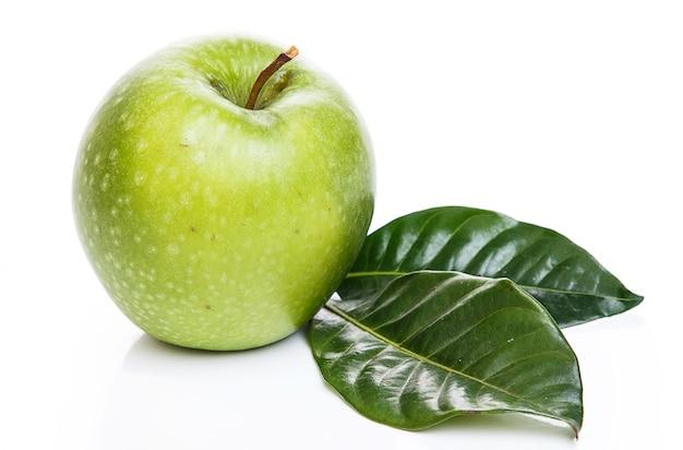 Manzana en la mesa