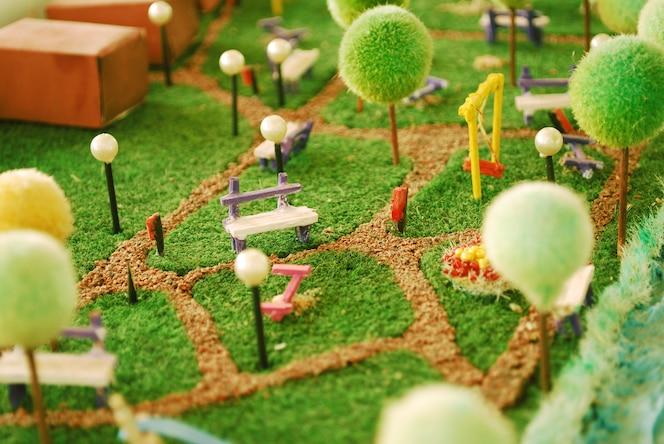 Senorio fotos y vectores gratis for Maquetas de jardines
