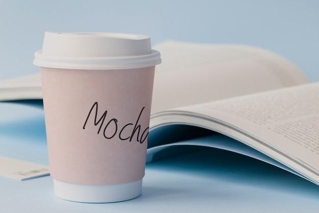 Maqueta de la taza de café