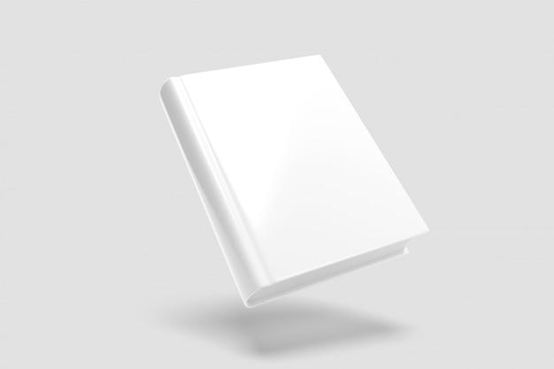 Maqueta de un libro flotante