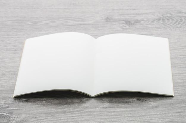 Maqueta de libros en blanco