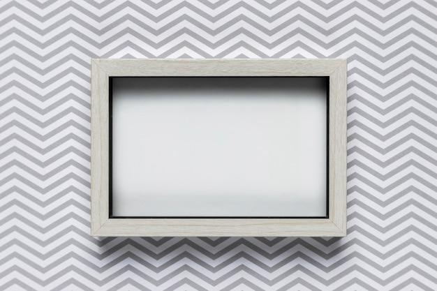 Maqueta de marco con fondo estampado
