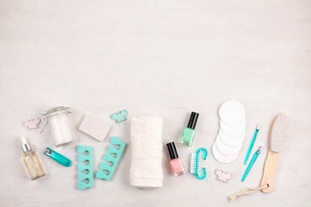 Maqueta de productos cosméticos de belleza.