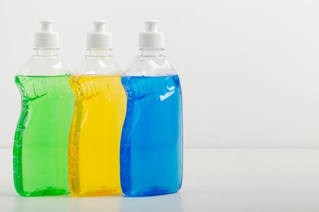 Maqueta de recogida de líquidos de lavado