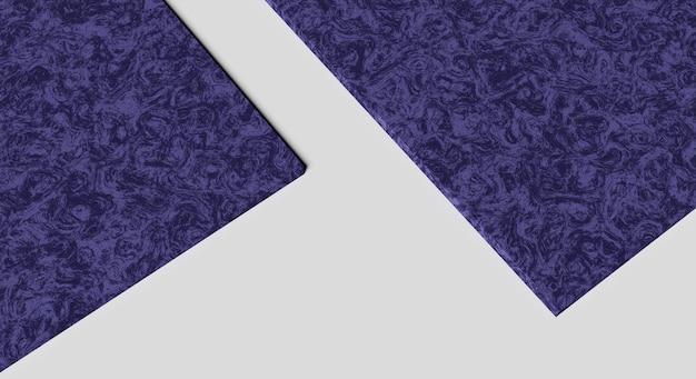 Maqueta de renderizado 3d textura de patrón abstracto púrpura