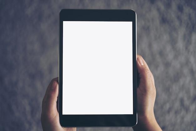 Maqueta de la tableta